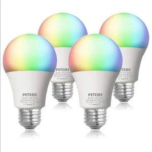 4 Pack Péteme LED Lightbulbs